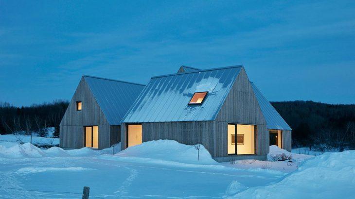 Une - Hatley-House par Pelletier-Fontenay - Hatley, Canada © James Brittain