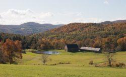 Vue panoramique site - Woodstock Vermont Farm par Rick-Joy - Vermont, USA © Jean-Luc Laloux