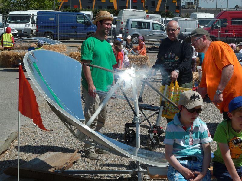 capteur a energie solaire