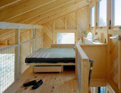 Chambre niveau supérieur - Retreat-Island par Alex Scott Porter Design - USA