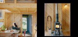 Mini coin séjour et cheminée - Retreat-Island par Alex Scott Porter Design - USA