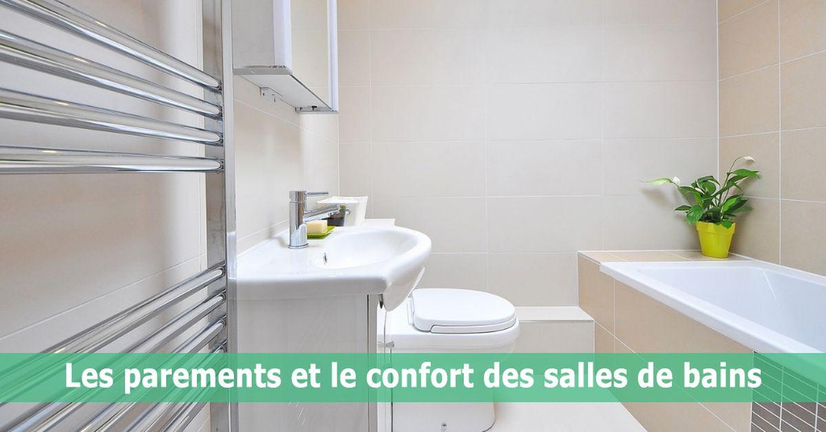 Les parements et le confort des salles de bains   Build Green