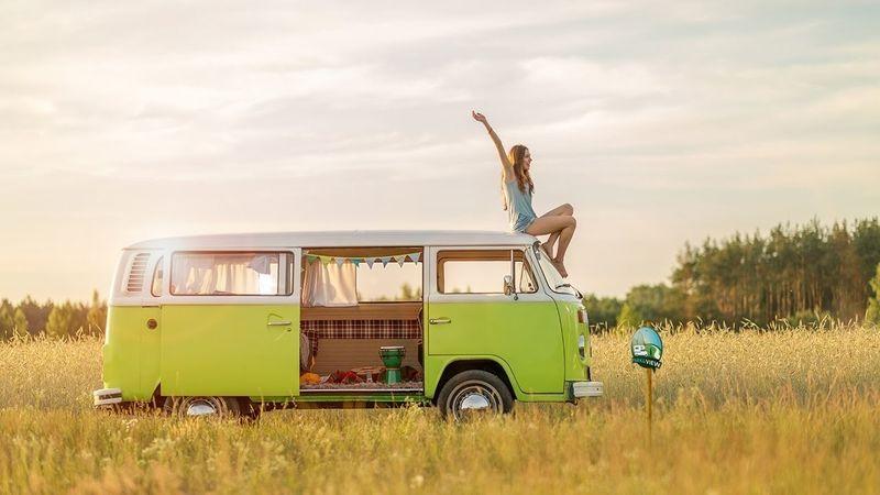 vacances camping-car avec Park and view