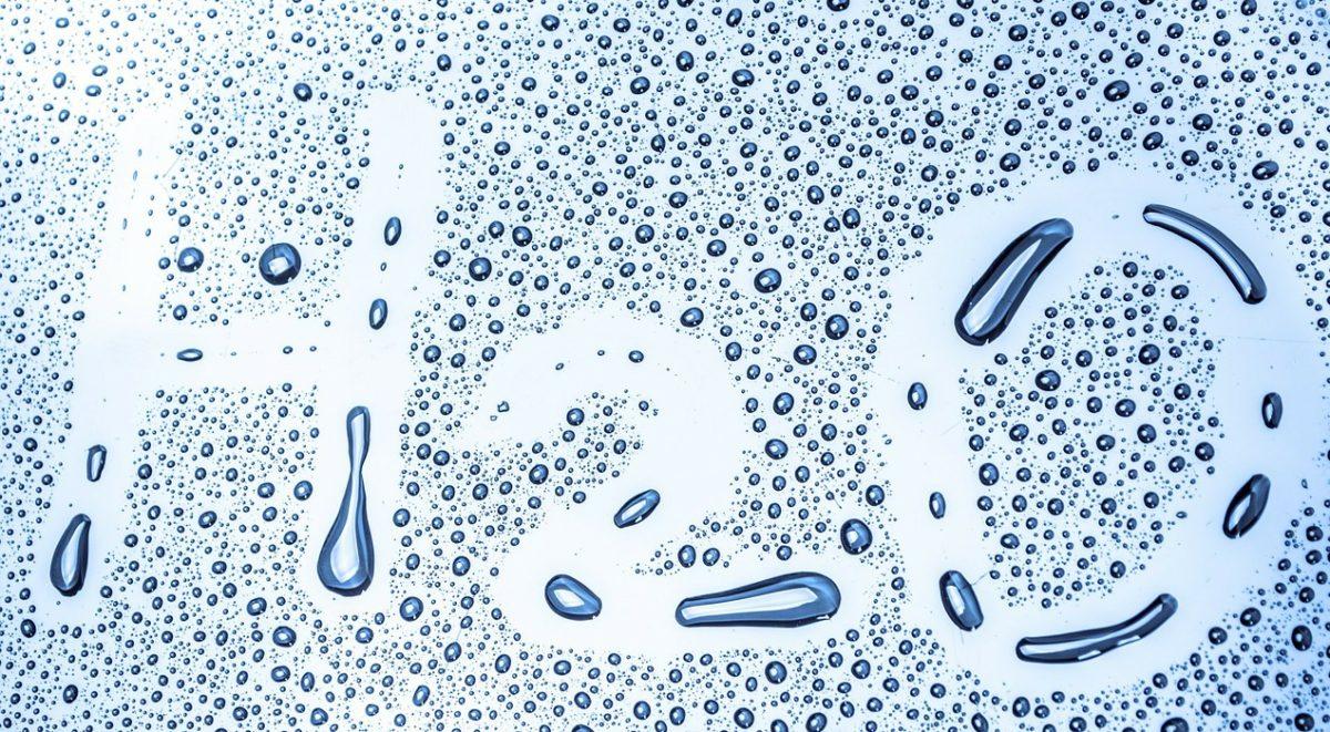 etancheite du polyurethane au flux d'eau liquide