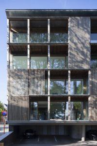 03-Shutterflats par Delmulle Delmulle Architecten - Waregem, Belgique © Johnny Umans