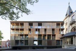 06- Shutterflats par Delmulle Delmulle Architecten - Waregem, Belgique © Johnny Umans