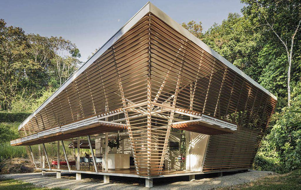 Une-No Footprint House par A-01 - Costa Rica © Fernando Alda