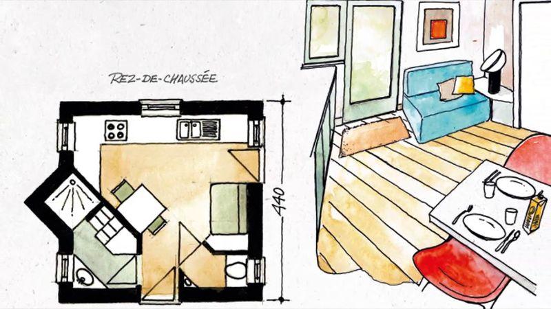 tiny house La Grange