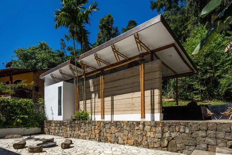 04- Guesthouse par CRU! Architectes - Brésil © nelson kon
