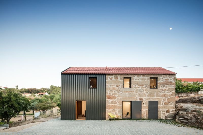 06- MCR2 House par Filipe Pina - Belmonte, Portugal © Joao Morgado