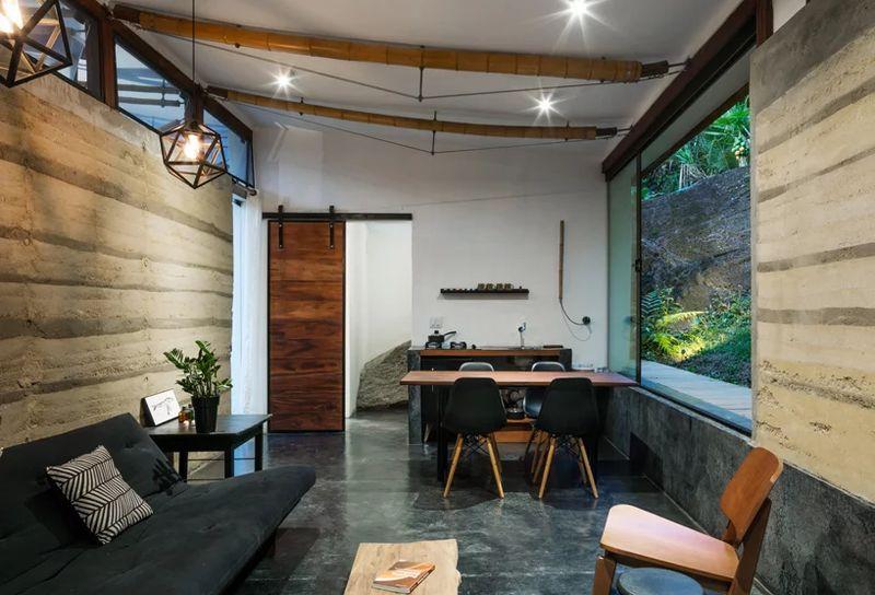 07- Guesthouse par CRU! Architectes - Brésil © nelson kon