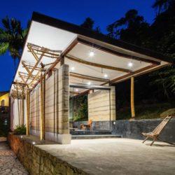 15- Guesthouse par CRU! Architectes - Brésil © nelson kon