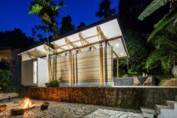 16- Guesthouse par CRU! Architectes - Brésil © nelson kon