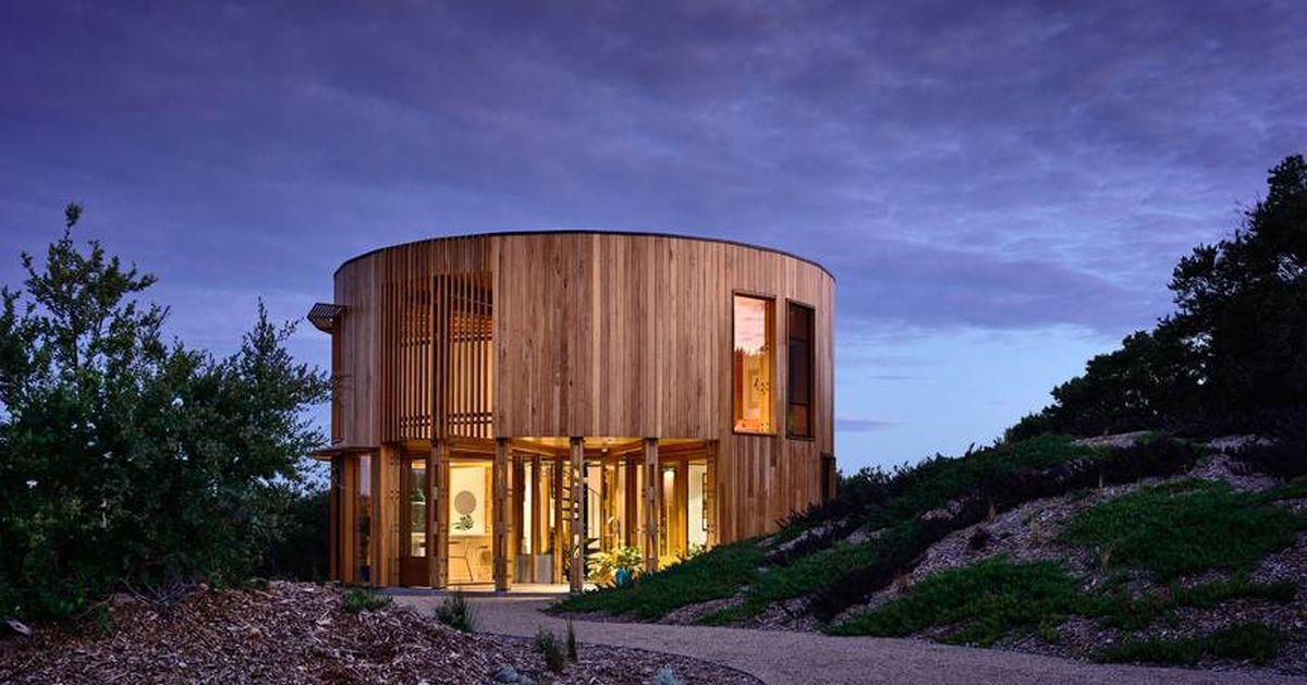 Une Cabane De Plage Australienne Aux Allures De Maison Bois Ronde Build Green