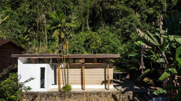 Une- Guesthouse par CRU! Architectes - Brésil © nelson kon