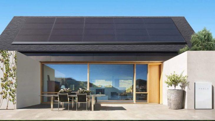 panneaux solaires Tesla à 50$ par mois