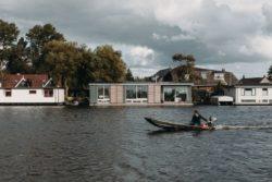 01- Floating-Villa par vanOmmeren-architecten - Haarlem, Pays-Bas