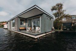 08- Floating-Villa par vanOmmeren-architecten - Haarlem, Pays-Bas