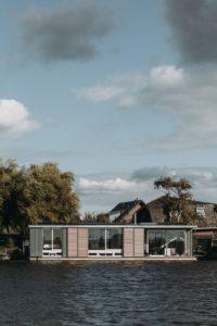 22- Floating-Villa par vanOmmeren-architecten - Haarlem, Pays-Bas