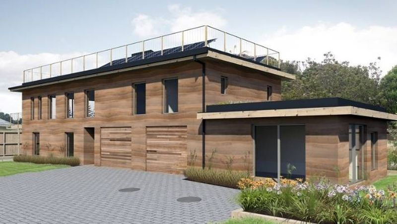 5- Passive House par Rochelle-Joel - Auckland, Nouvelle-Zélande © Abigail Dougherty