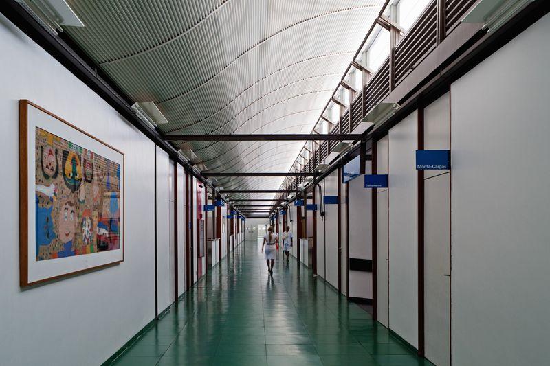 Hospital Sarah Kubitschek Salvador © Nelson Kon