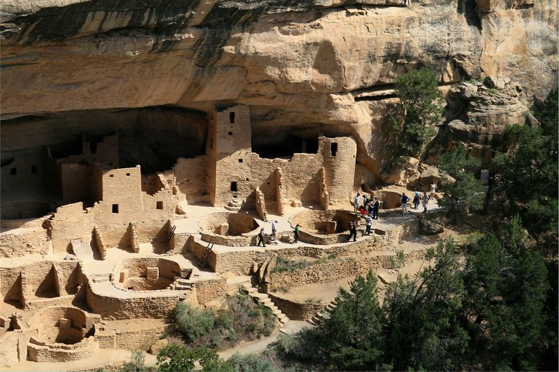 Mesa_Verde_National_Park Cliff Palace Right Part - Andreas F. Borchert