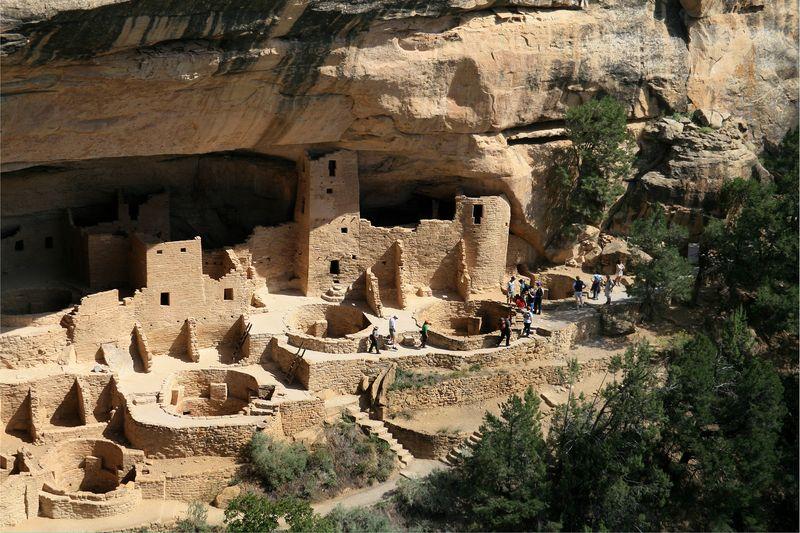 Mesa_Verde_National_Park Cliff Palace Right Part - Andreas F. Borchert