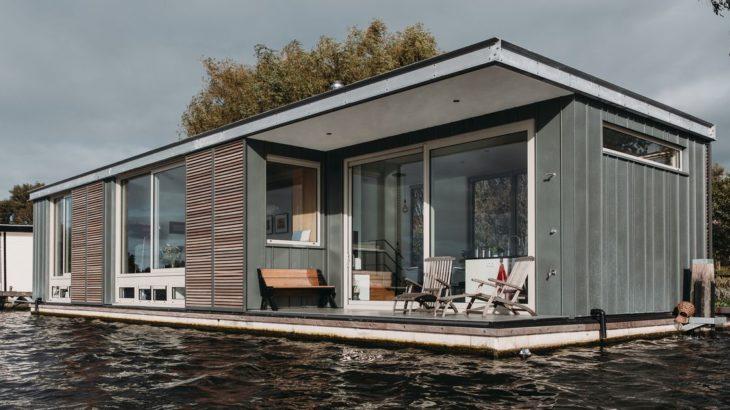 Une - Floating-Villa par vanOmmeren-architecten - Haarlem, Pays-Bas