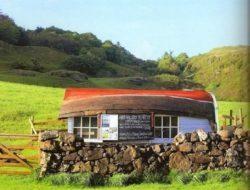 maison bois avec toiture coque bateau © bp blogspot