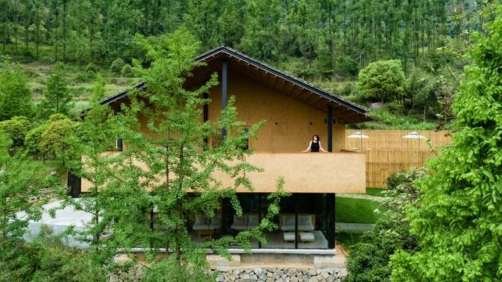 01-Retreat-Village par kooo architects - Zhejiang, Chine © Keishin Horikoshi