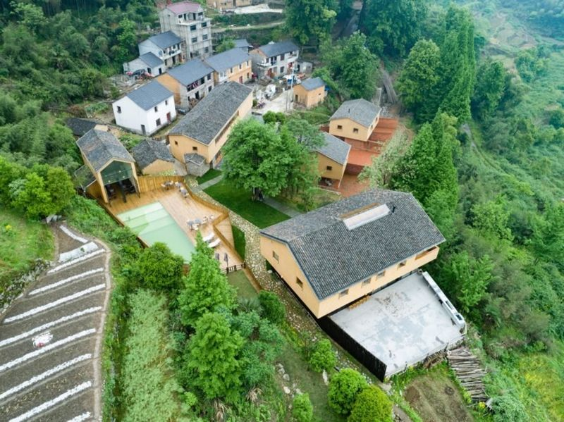 02- Retreat-Village par kooo architects - Zhejiang, Chine © Keishin Horikoshi