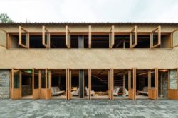 04- Retreat-Village par kooo architects - Zhejiang, Chine © Keishin Horikoshi
