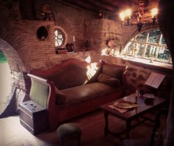 interieur maison hobbit