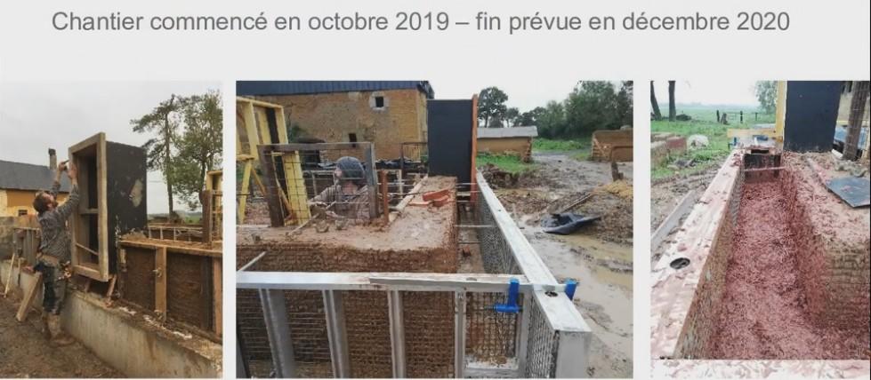 chantier prototype CobBauge Caen