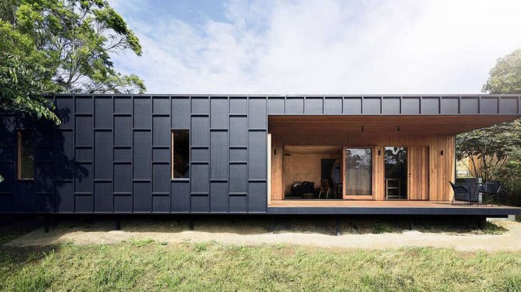 Une-OCM-House par Studio Jackson Scott - Byron Bay, Australie © Ryan Jellyman
