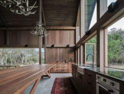 14- The-Barn-House par Paul-Uhlmann-Architects - Pullenvale, Australie © Andy Macpherson Studio