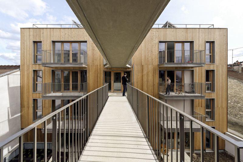 10- 26-Passive-Apartments par Benjamin Fleury - Montreuil, France © David Boureau