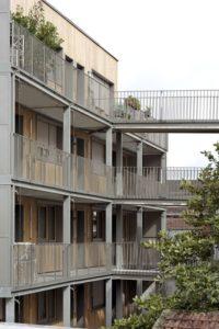 14- 26-Passive-Apartments par Benjamin Fleury - Montreuil, France © David Boureau