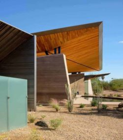 21- Rammed-Earth-Home par Kendle-Design-Collaborative - Arizona, USA © Alexander Vertikoff