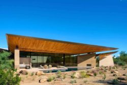 23- Rammed-Earth-Home par Kendle-Design-Collaborative - Arizona, USA © Alexander Vertikoff