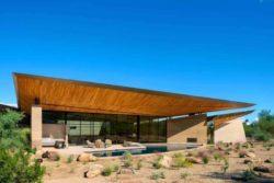 23- Rammed-Earth-Home par Kendle-Design-Collaborative - Arizona, USA © Alexander Vertikoff