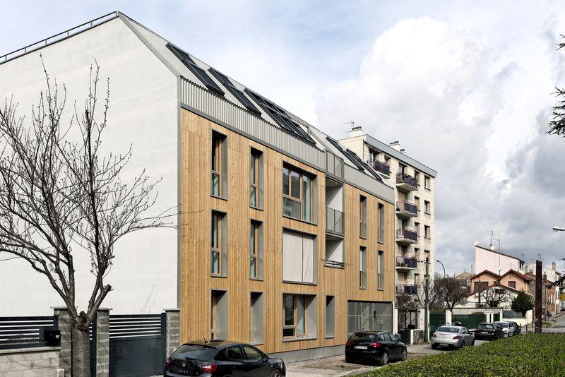 6- 26-Passive-Apartments par Benjamin Fleury - Montreuil, France © David Boureau