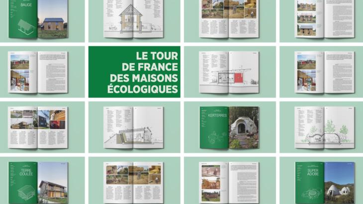 Livre Tour de France des Maisons Écologiques