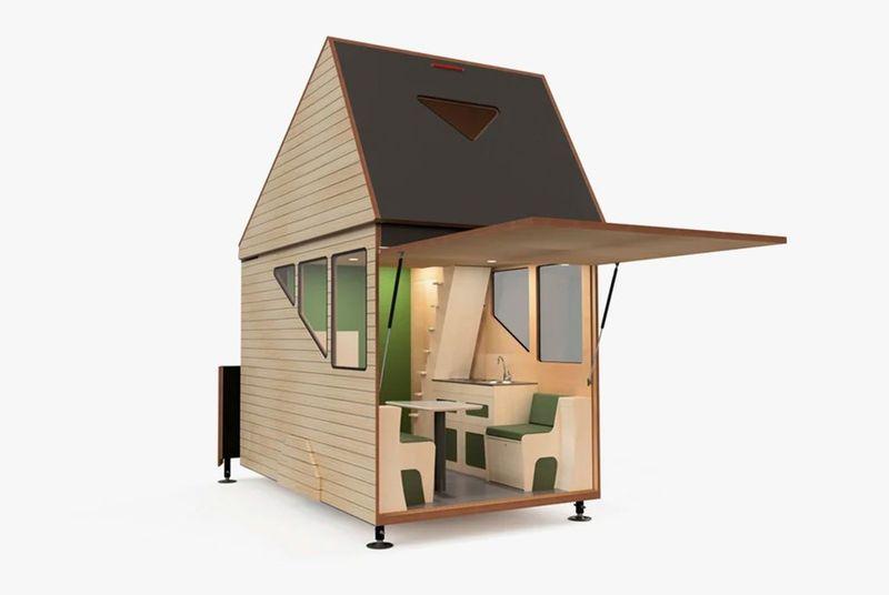 4- Micro-Cabin-Motorhome par Haaks Opperland campervan - Pays-Bas