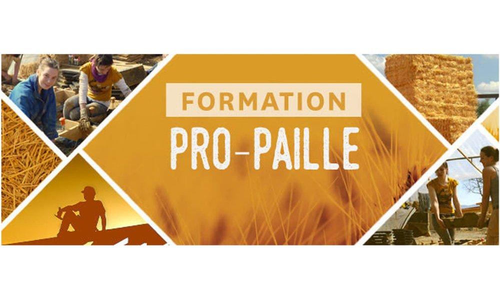 Formation PRO-PAILLE –  Centre de formation PERF à Tarnos (FR-40)