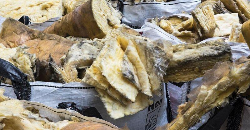 recyclage de la laine de verre