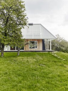 4- Family-Greenhouse par RicharDavidArchitekti - Horice, Republique Tcheque