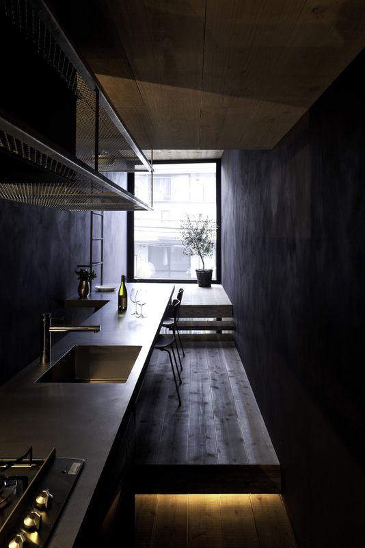 4- Width-House par YUUA Architects - Tokyo, Japon © Sobajima