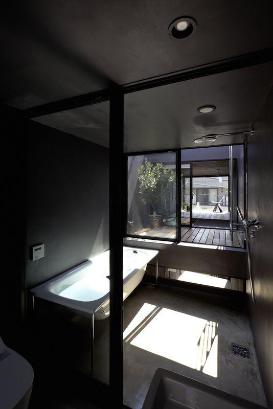 6- Width-House par YUUA Architects - Tokyo, Japon © Sobajima