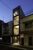 9- Width-House par YUUA Architects - Tokyo, Japon © Sobajima